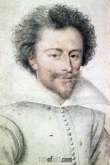 Henri I de Lorraine, undated | Francois Clouet| Painting Reproduction