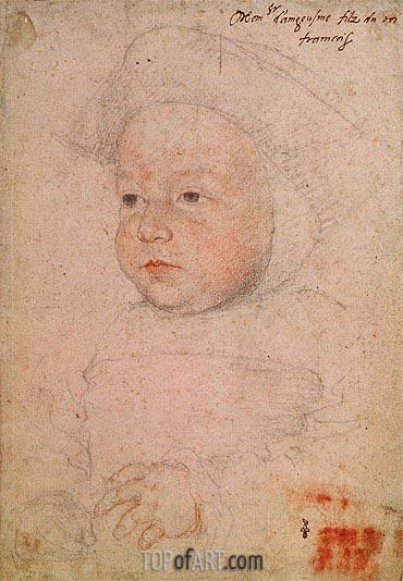Francois Clouet | Charles de France, 1524