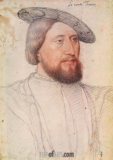 Francois Clouet | Francois du Bellay, c.1540