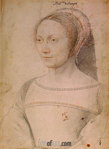 Francois Clouet | Anne de Pisseleu, c.1540