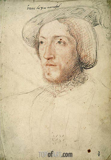 Francois Clouet | Charles I de Cosse Count of Brissac, c.1540