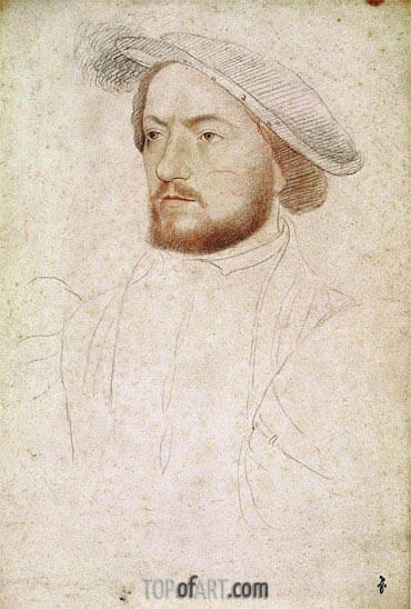Francois Clouet | Francois de Rohan Seigneur de Gie, c.1540