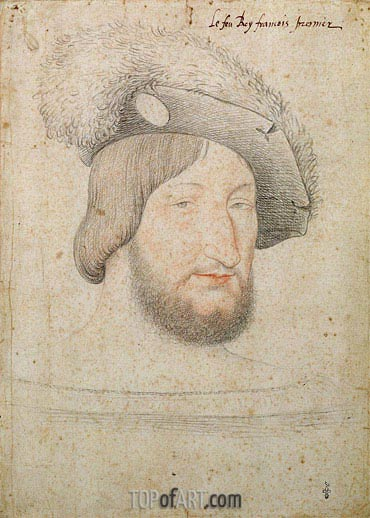 Francois Clouet | Portrait of Francois I, b.1525