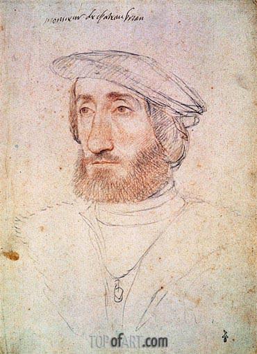 Francois Clouet | Jean de Laval Seigneur de Chateaubriand, undated