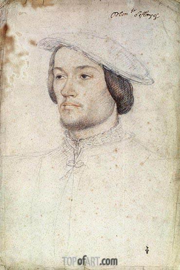 Francois Clouet | Portrait of Jean de Brosse duc d'Etampes, c.1540
