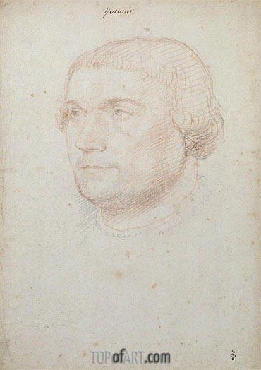Francois Clouet | Desiderius Erasmus of Rotterdam, c.1510