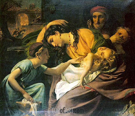 The Massacre of the Innocents, 1824 | Francois Navez | Painting Reproduction