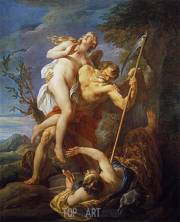 Francois Lemoyne | Time Saving Truth from Falsehood and Envy, 1737