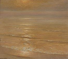 Die goldene Stunde, Laguna Beach, c.1923 von Frank Cuprien | Gemälde-Reproduktion