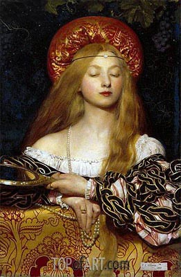 Vanity, 1907 | Frank Cadogan Cowper | Painting Reproduction