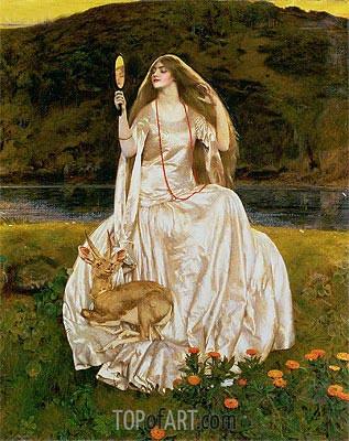 Frank Cadogan Cowper | The Damsel of the Lake, Called Nimue the Enchantress, 1924