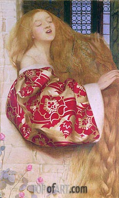 Rapunzel, 1908 | Frank Cadogan Cowper | Painting Reproduction
