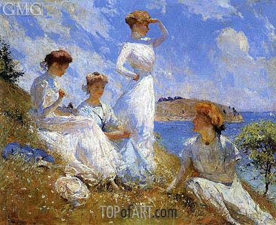 Summer, 1909 | Frank Weston Benson | Painting Reproduction