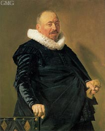 Portrait of an Elderly Man | Frans Hals | Gemälde Reproduktion