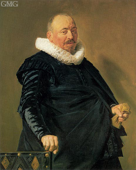 Portrait of an Elderly Man, c.1627/30 | Frans Hals | Gemälde Reproduktion