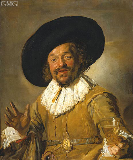 The Merry Drinker, c.1628/30 | Frans Hals | Gemälde Reproduktion