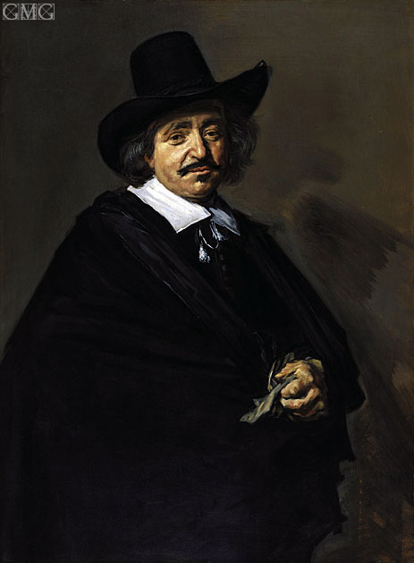 Portrait of a Man, c.1650/52 | Frans Hals | Painting Reproduction