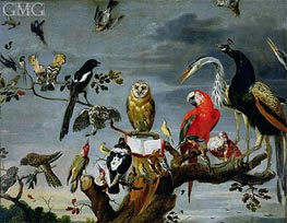 Concert of Birds | Frans Snyders | Painting Reproduction