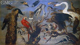 Bird's Concert | Frans Snyders | outdated
