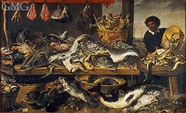 Fish Market | Frans Snyders | outdated