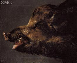 Boar's Head, c.1620/40 by Frans Snyders | Painting Reproduction
