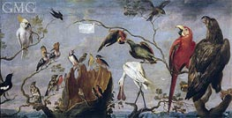 Concert of the Birds, c.1629/30 by Frans Snyders   Painting Reproduction