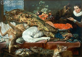 Still Life, Undated by Frans Snyders | Painting Reproduction