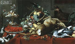 Still Life with Dead Game, Undated by Frans Snyders | Painting Reproduction