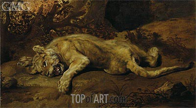 The Lioness,  | Frans Snyders | Painting Reproduction