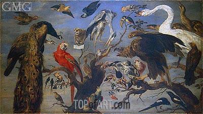 Frans Snyders | Bird's Concert, c.1630/40