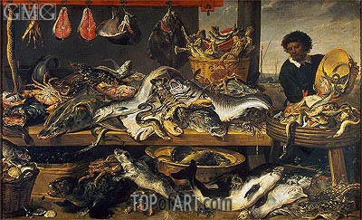 Fish Market, c.1620 | Frans Snyders | Painting Reproduction