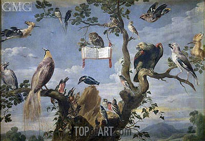 Concert of the Birds, c.1629/30 | Frans Snyders | Painting Reproduction