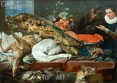Still Life,  | Frans Snyders | Painting Reproduction