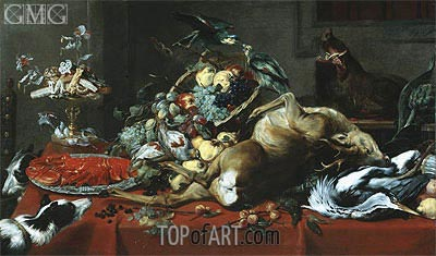 Still Life with Dead Game,  | Frans Snyders | Painting Reproduction