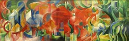 Playing Forms | Franz Marc | outdated