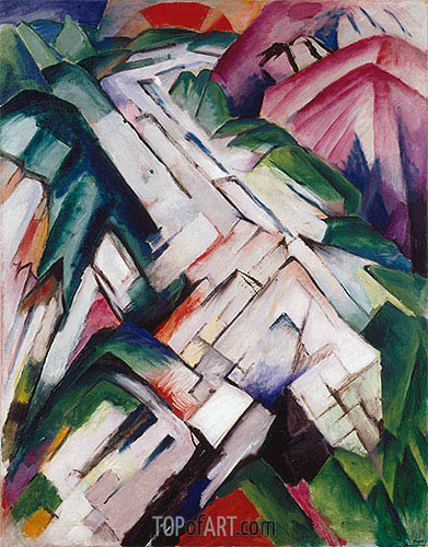Franz Marc | Mountains (Landscape), 1911/12
