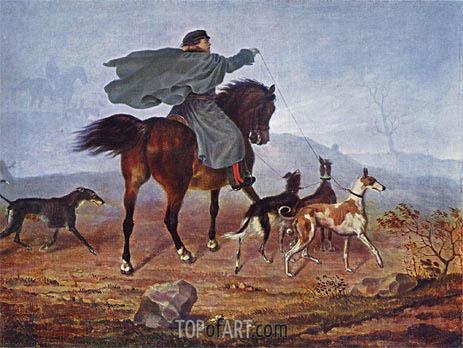 Franz Kruger | Ausritt zur Jagd, 1819