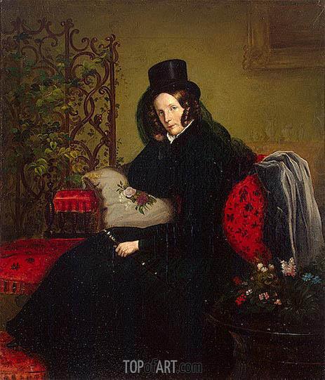 Franz Kruger | Portrait of Empress Alexandra Fyodorovna, 1836