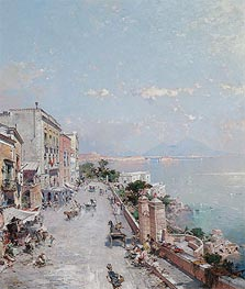 Posilipo, Naples | Unterberger | Painting Reproduction
