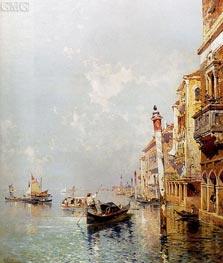 Canale della Giudecca | Unterberger | Painting Reproduction