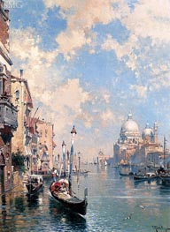 The Grand Canal, Venice, undated von Unterberger | Gemälde-Reproduktion