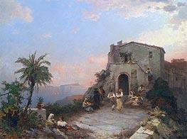 Sommerfest in Italien | Unterberger | Gemälde Reproduktion