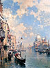 The Grand Canal, Venice | Franz Richard Unterberger