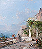 Sorrento, on the Bay of Naples | Franz Richard Unterberger