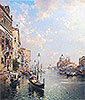 Grand Canal, Venice | Franz Richard Unterberger
