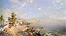 The Bay of Naples | Franz Richard Unterberger