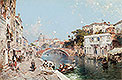 Canal in Venice | Franz Richard Unterberger