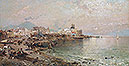 Torre del Greco, Bay of Naples | Franz Richard Unterberger