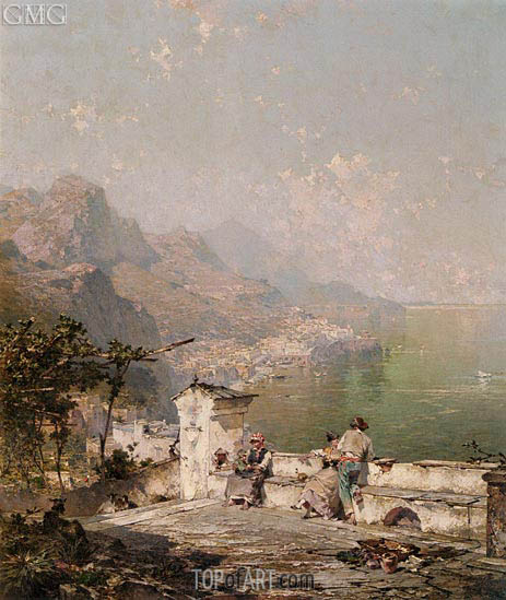 Unterberger | Amalfi, The Gulf Of Salerno, undated