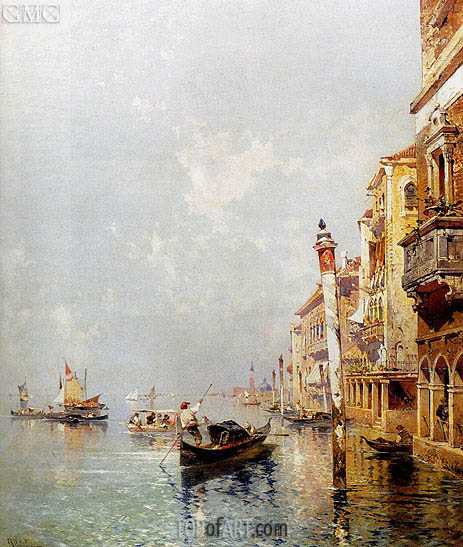 Unterberger | Canale della Giudecca, c.1895/00